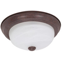 Signature 2 Light 13 inch Old Bronze Flushmount Ceiling Light