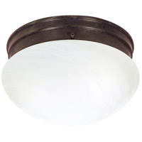 Nuvo 60/2634 Signature 2 Light 10 inch Old Bronze Flushmount Ceiling Light photo thumbnail