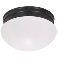 Nuvo Lighting Signature 2 Light Flush Mount in Mahogany Bronze 60/2643