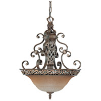 Nuvo Lighting Palermo 3 Light Pendant in Cappuccino 60/2706 photo thumbnail