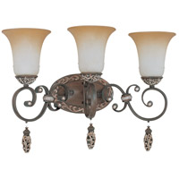 Nuvo Lighting Palermo 3 Light Vanity & Wall in Cappuccino 60/2715 photo thumbnail