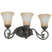 Nuvo Lighting Brussells 3 Light Wall Sconce in Belgium Bronze 60/2735 photo thumbnail