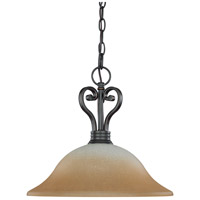 Montgomery 1 Light 16 inch Sudbury Bronze Pendant Ceiling Light