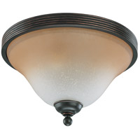 Nuvo Lighting Montgomery 2 Light Flushmount in Sudbury Bronze 60/2753