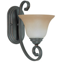 Nuvo Lighting Montgomery 1 Light Vanity & Wall in Sudbury Bronze 60/2755