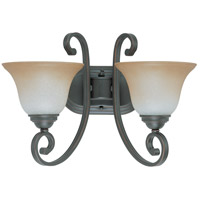 Nuvo Lighting Montgomery 2 Light Vanity & Wall in Sudbury Bronze 60/2756
