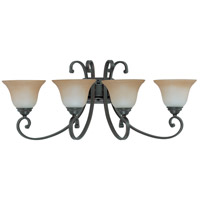 Nuvo Lighting Montgomery 4 Light Vanity & Wall in Sudbury Bronze 60/2758