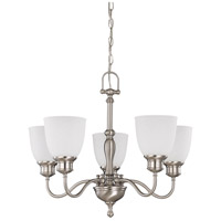 Nuvo Lighting Bella 5 Light Chandelier in Brushed Nickel 60/2775