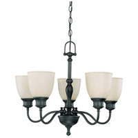 Nuvo Lighting Bella 5 Light Chandelier in Aged Bronze 60/2776