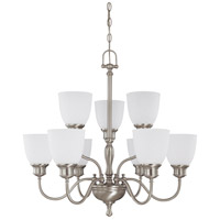 Nuvo Lighting Bella 9 Light Chandelier in Brushed Nickel 60/2779