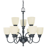 Nuvo Lighting Bella 9 Light Chandelier in Aged Bronze 60/2781