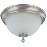 Bella 2 Light 11 inch Brushed Nickel Flushmount Ceiling Light