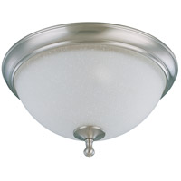Bella 2 Light 16 inch Brushed Nickel Flushmount Ceiling Light