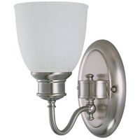 Bella 1 Light 6 inch Brushed Nickel Vanity & Wall Wall Light