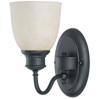 Nuvo Lighting Bella 1 Light Vanity & Wall in Aged Bronze 60/2796
