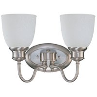 Nuvo Lighting Bella 2 Light Vanity & Wall in Brushed Nickel 60/2797