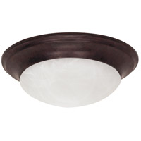 Nuvo Lighting Signature 1 Light Flushmount in Old Bronze 60/280