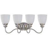 Bella 4 Light 27 inch Brushed Nickel Vanity & Wall Wall Light