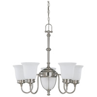 Nuvo Lighting Salem 7 Light Chandelier in Brushed Nickel 60/2806 photo thumbnail