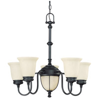 Nuvo Lighting Salem 7 Light Chandelier in Aged Bronze 60/2807 photo thumbnail