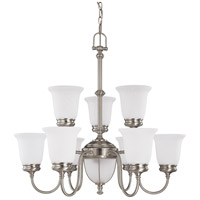 Nuvo Lighting Salem 11 Light Chandelier in Brushed Nickel 60/2809 photo thumbnail