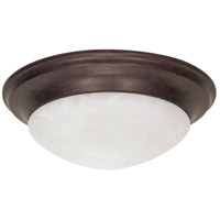 Nuvo 60/282 Signature 3 Light 17 inch Old Bronze Flushmount Ceiling Light photo thumbnail