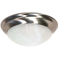 Nuvo Lighting Signature 2 Light Flushmount in Brushed Nickel 60/284