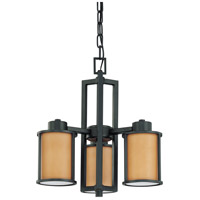 Nuvo Lighting Odeon 3 Light Chandelier in Aged Bronze 60/2852