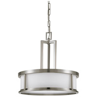 Nuvo Lighting Odeon 4 Light Pendant in Brushed Nickel 60/2857
