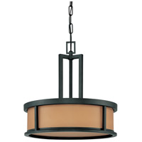 Nuvo Lighting Odeon 4 Light Pendant in Aged Bronze 60/2858