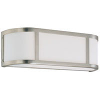 Nuvo 60/2871 Odeon 2 Light 16 inch Brushed Nickel Vanity & Wall Wall Light photo thumbnail
