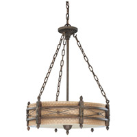 Nuvo Lighting Prescott 3 Light Pendant in Astor Bronze 60/2883