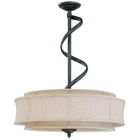 Nuvo Lighting Darwin 3 Light Pendant in Aged Bronze 60/2884