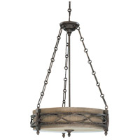 Nuvo Lighting Ansel 3 Light Pendant in Distressed Bronze 60/2886