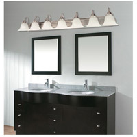 Nuvo 60/291 Ballerina 7 Light 48 inch Brushed Nickel Vanity & Wall Wall Light alternative photo thumbnail
