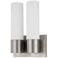 Nuvo 60/2938 Link 2 Light 8 inch Brushed Nickel ADA Wall Sconce Wall Light