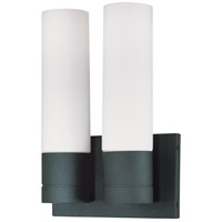 Nuvo Lighting Link 2 Light Vanity & Wall in Textured Black 60/2939
