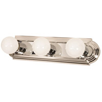 Nuvo Lighting Signature 3 Light Vanity & Wall in Polished Chrome 60/296