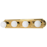 Signature 4 Light 24 inch Polished Brass Vanity & Wall Wall Light