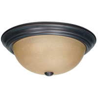 Nuvo Lighting Signature 3 Light Flushmount in Mahogany Bronze 60/3107