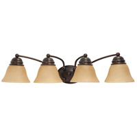 Nuvo Lighting Empire 4 Light Vanity & Wall in Mahogany Bronze 60/3128
