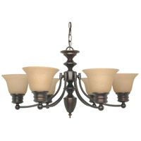 Nuvo Lighting Empire 6 Light Chandelier in Mahogany Bronze 60/3129