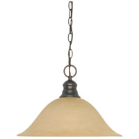 Nuvo 60/3133 Signature 1 Light 16 inch Mahogany Bronze Pendant Ceiling Light photo thumbnail
