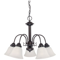 Nuvo Lighting Ballerina 5 Light Chandelier in Mahogany Bronze 60/3141