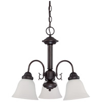 Nuvo Lighting Ballerina 3 Light Chandelier in Mahogany Bronze 60/3142