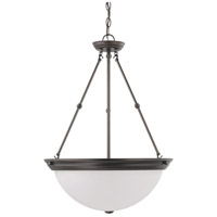 Nuvo 60/3153 Brentwood 3 Light 20 inch Mahogany Bronze Pendant Ceiling Light
