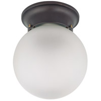 Nuvo Lighting Signature 1 Light Flushmount in Mahogany Bronze 60/3154 photo thumbnail