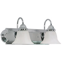 Nuvo 60/316 Ballerina 2 Light 18 inch Polished Chrome Vanity & Wall Wall Light