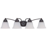 Nuvo Lighting Empire 4 Light Vanity & Wall in Mahogany Bronze 60/3168