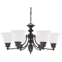 Nuvo Lighting Empire 6 Light Chandelier in Mahogany Bronze 60/3169
